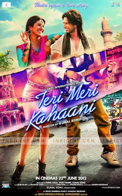 Teri Meri Kahaani (2012) Hindi 720p HDRip x265 HEVC 600Mb