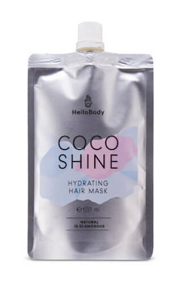 masque hydratant Coco Shine de Hello Body