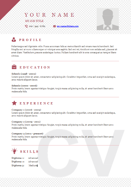 templates for word free resume template download resumes templates cv template word resume templates microsoft word - Free Resume Templates For Download