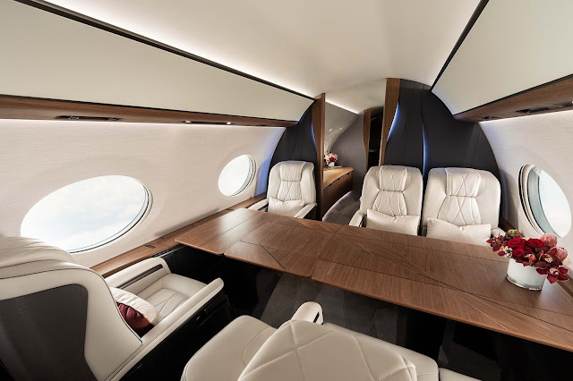 Private jet provides Luxury | Luxurious cabin