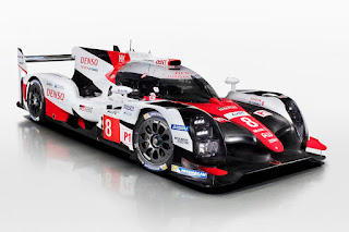 Toyota TS050 Hybrid LMP1 2017 Front Side
