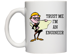 Kubek Trust me I'm an engineer - prezent po obronie