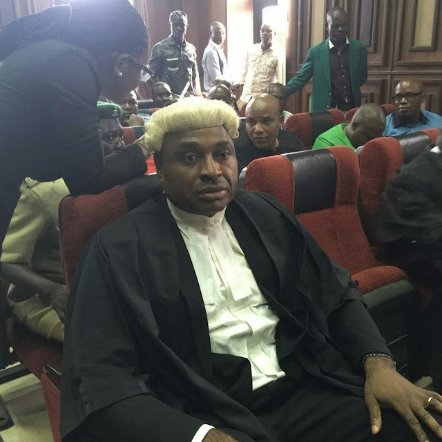 """I state categorically that I am not one of the Defence Counsel"" – Nollywood Actor Kenneth Okonkwo On Nnamdi Kanu"
