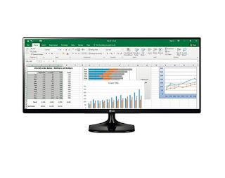 monitor LG 25UM58