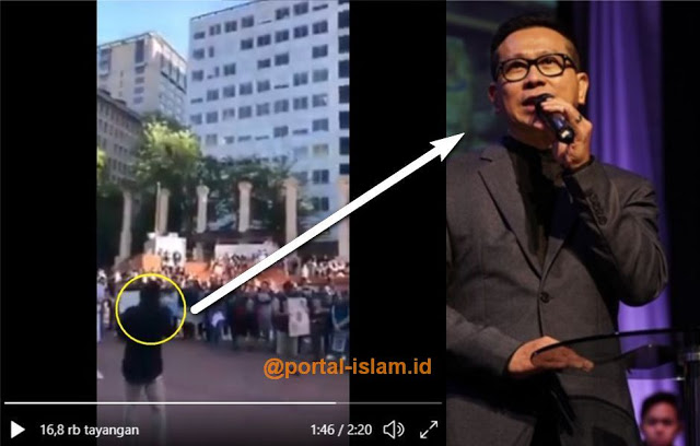 Viral Videonya... Pidato Pendeta Indonesia pada Aksi di AS Tuai Kecaman di Tanah Air