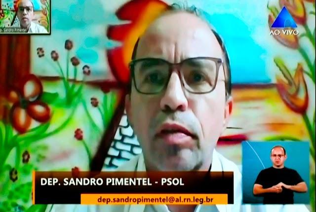 SANDRO PIMENTEL LAMENTA INTERFERÊNCIA NO PROCESSO ELEITORAL DA UFERSA