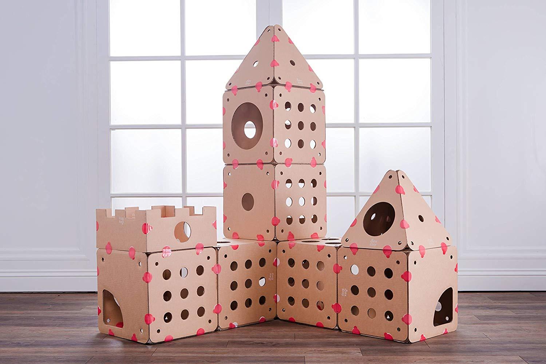 Increíbles casas para gatos con cajas de carton ecologicas