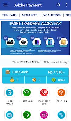 Aplikasi Android Adzka Payment