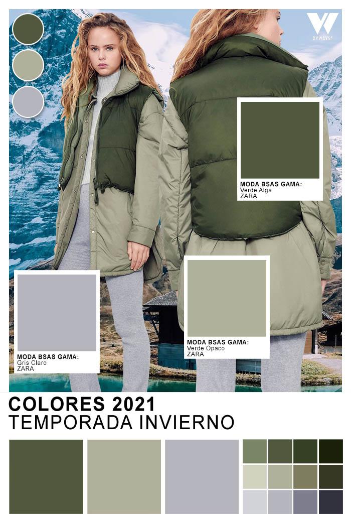 ropa de moda mujer invierno 2021
