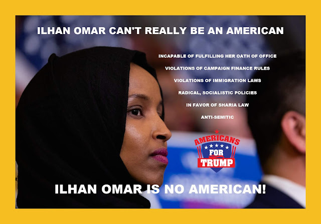 Memes: ILHAN OMAR CAN'T REALLY BE AN AMERICAN