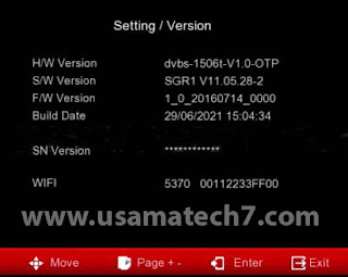 1506t SGR1 Software Download With Direct Bisskey