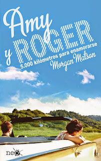 Amy y Roger: 5000 kilómetros para enamorarse, Morgan Matson
