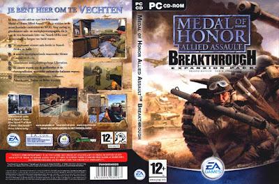 Medal of Honor: Allied Assault Breakthrough PC DVD Capa