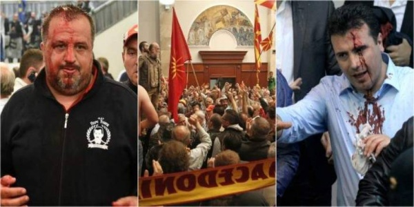 Σκόπια: Πολιορκείται το Κοινοβούλιο - Συνάντηση του Τ.Τζαφέρι με τον Αλβανό μακελάρη του ISIS