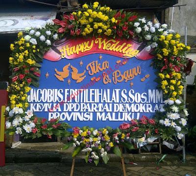 bunga papan surabaya ucapan pernikahan