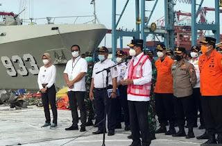 Operasi Pencarian Pesawat Sriwijaya Air SJ 182 Resmi Dihentikan