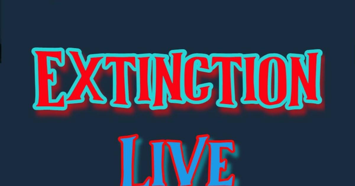 Extinction Live - cover