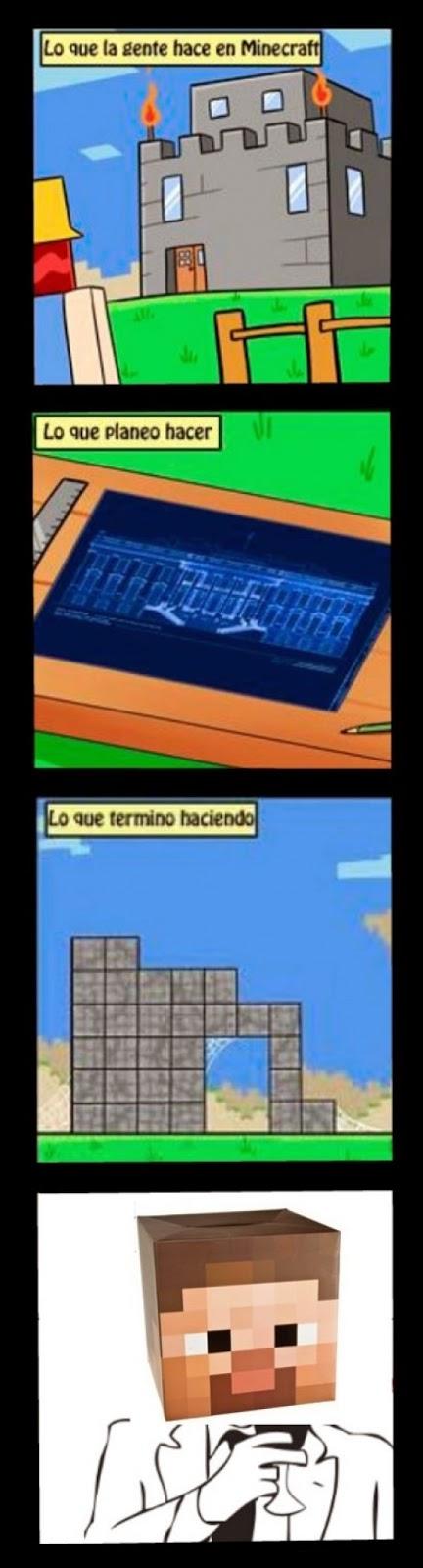 Cuando Juego Minecraft