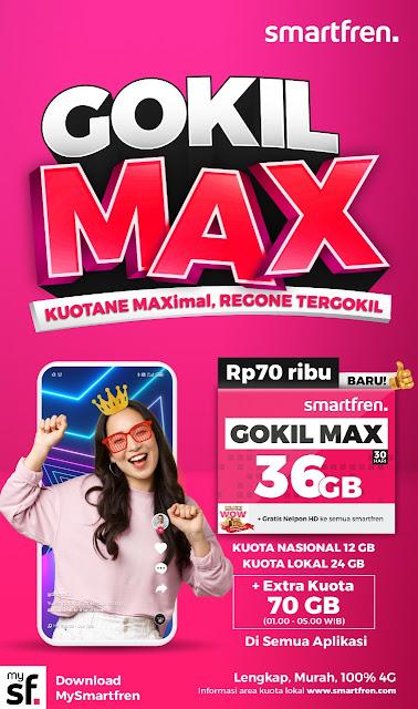 Smartfren Gokil Max