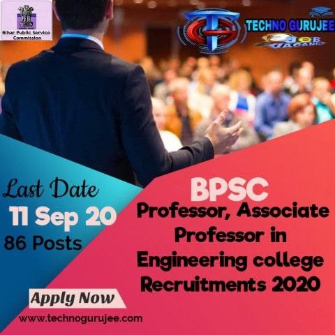 Bihar-BPSC-Professor,-Associate-Professor-Recruitment-Apply-Online-Form-2020