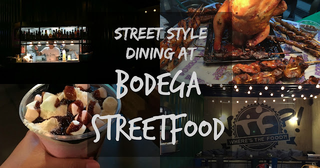 Streetstyle dining at Bodega Streetfood