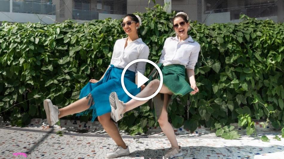 கேரள பெண்கள் வேட்டியை மடித்து கட்டி போட்ட செம டான்ஸ் ! வேற லெவல் டான்ஸ் !!