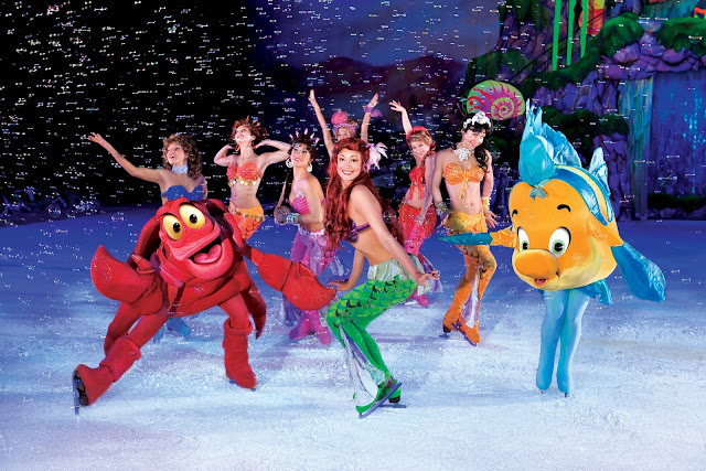 Little Mermaid cast Disney On Ice