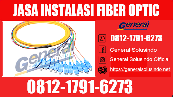 Jasa Instalasi Fiber Optic Tuban