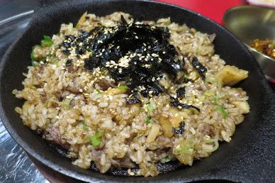 Eee Mo BBQ (이모), fried rice