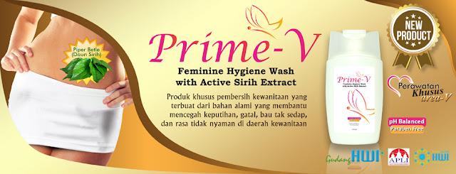 PRIME V FEMININE HYGIENE WASH 100ML