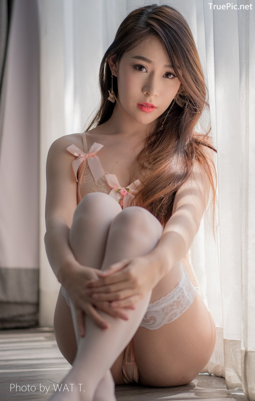 Image Thailand Model - Thipsuda Jitaree - Pink Sky Lingerie - TruePic.net - Picture-10