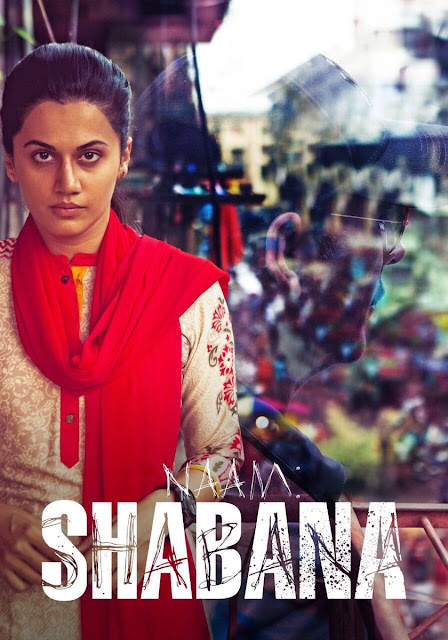 The first look of Taapsee Pannu in 'Naam Shabana' is fiery and powerful.