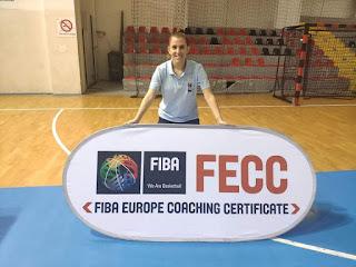 Η προπονήτρια του αναπτυξιακού της ΕΣΚΑΝΑ στα Σκόπια σε σεμινάριο FIBA