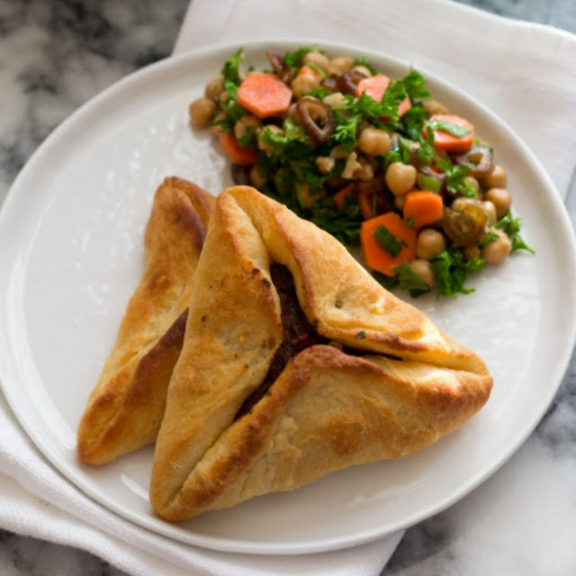 Lebanese Meat Pies Or Sfeehas