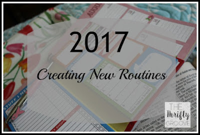My goal for 2017 is routines. They help keep my life on tract.