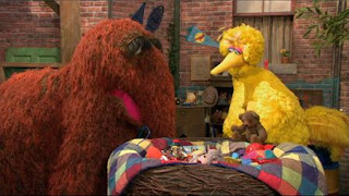 Big Bird, Snuffy, Sesame Street Episode 4413 Big Bird's Nest Sale season 44