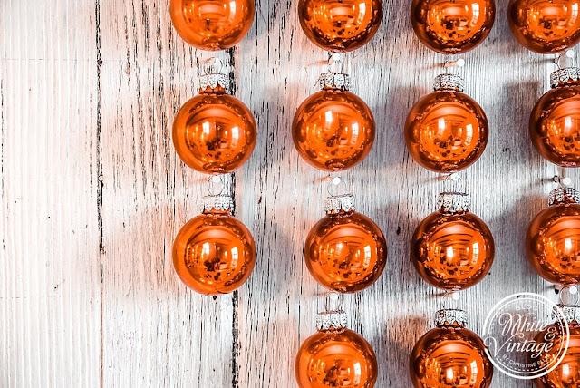 DIY-Anleitung Hirschdeko aus Weihnachtskugeln für Weihnachten