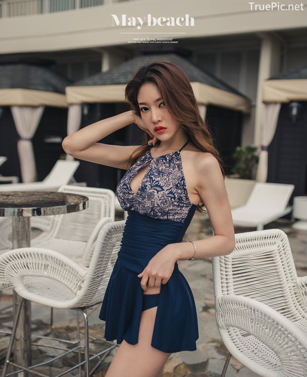 Korean model and fashion - Park Jeong Yoon - Lemare 2P Swimsuit Set - Picture 1