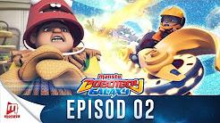 Boboiboy Galaxy Episode 2 - Power Sphera, Motobot!