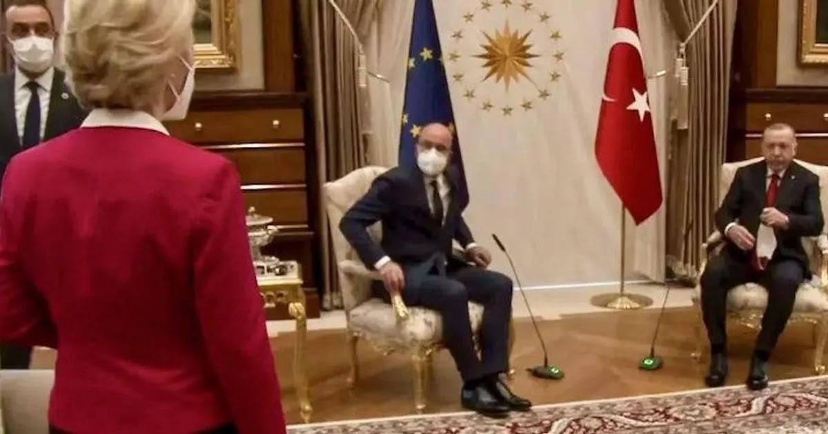 Ursula von der Leyen Speaks Out Against Sexism Following Turkey Chair Snub