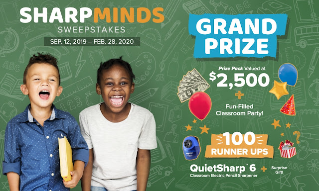 Bostitch wants to celebrate teachers and all they do for our children! Educators can enter to win a party for their classroom or an electric pencil sharpener!
