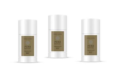 FM perfumowany antyperspirant w sztyfcie unisex Pure Royal 900 i 910 i 913