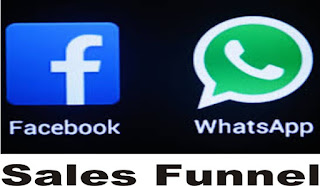 make money online with facebook and whatsapp sales funnel