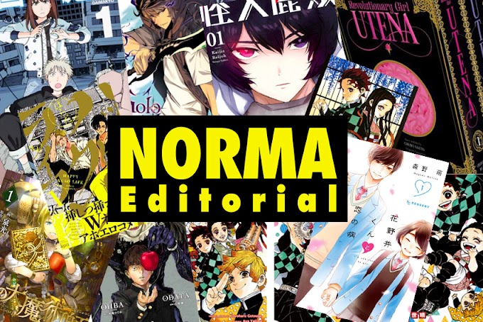 Licencia Manga: Recopilamos todas las licencias anunciadas de Norma Editorial en el mes de abril 2021