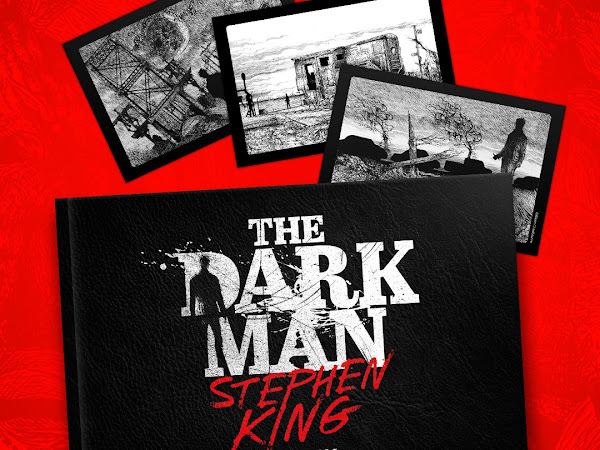 DarkSide Books publica poema inédito de Stephen King: The Dark Man — O Homem que Habita a Escuridão