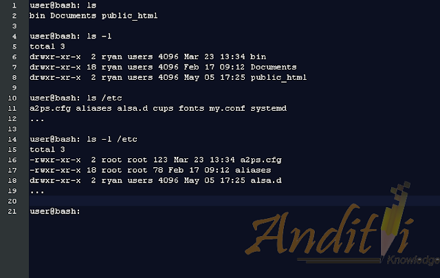 [Linux Tutorial] 2. Basic Navigation-anditii.web.id