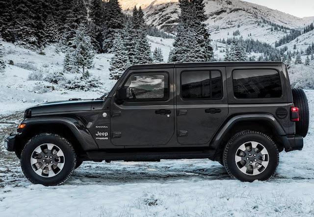 В России отзывают три модели Jeep