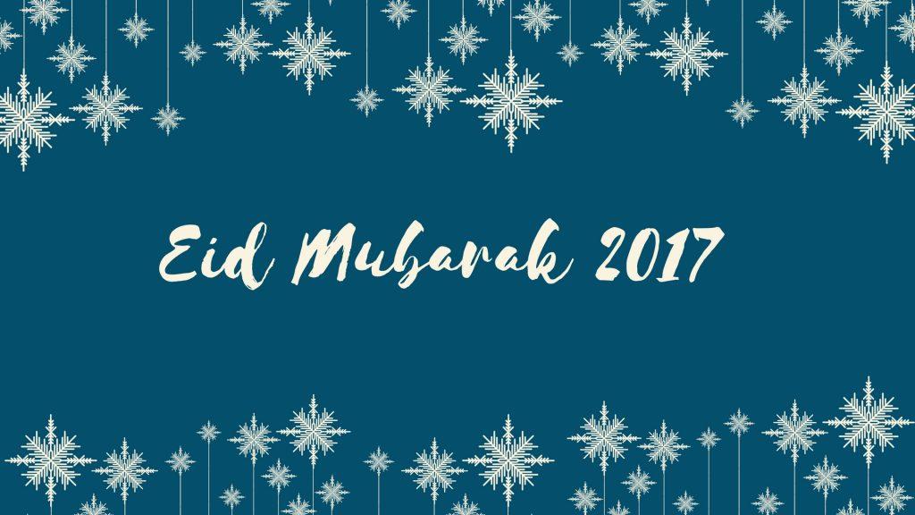 Eid Mubarak 2017 HD Image