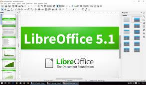 A LibreOffice 5.1 teljesen átszervezett felületet kínál, és számos továbbfejlesztett funkciót, amelyek a vállalati telepítéseket célozzák: jobb ODF 1.2 támogatás, interoperabilitás tulajdonosi dokumentumformátumokkal és fájlkezelés távoli kiszolgálókon. A LibreOffice-t 120 milliószor töltötték le a 2011. januári bevezetése óta. Az irodai csomagot minden kontinensen nagy szervezetek használják, ezek sora nemrég az olasz hadsereg 100 000-nél is több gépével bővült.