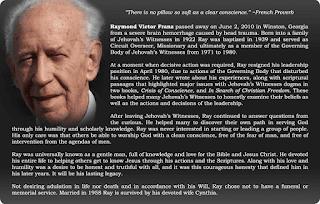 raymond franz mantan badan pimpinan saksi yehuwa mengungkapkan cerita tentang organisasi lembaga menara pengawal
